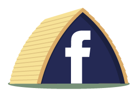 Follow Crowtree Wigwams on Facebook