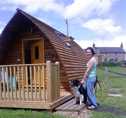 Dog books owners a Wigwam holiday!