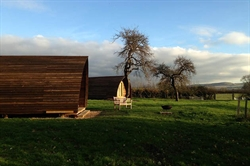 Local Campsite Gets Glamping - Hill Farm and Orchard
