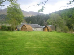 Wigwams Spring to life in the Highlands