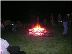 Firewalk at Strathfillan