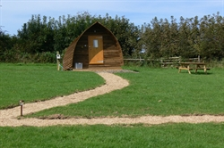 Penbugle Organic Farm Wigwams Finalist in Organic Awards