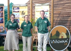 Wigwams 10 years on the go at the Royal Highland Show