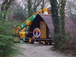 Wigwams arrive in Cornwall