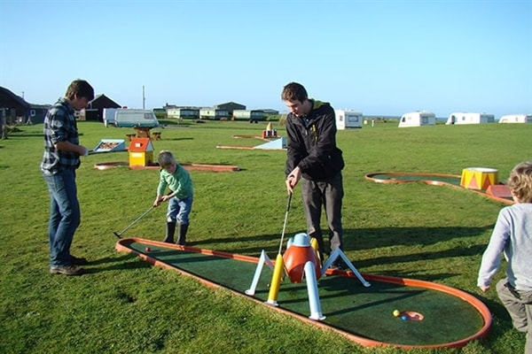 Activites at Machrihanish