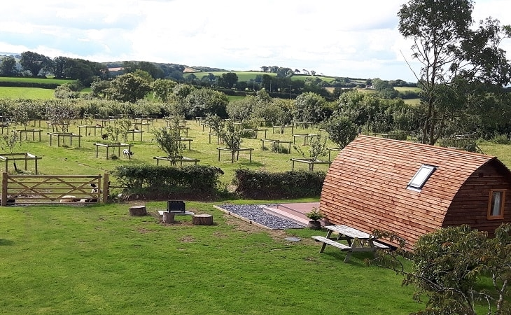 Larkworthy Farm Wigwams