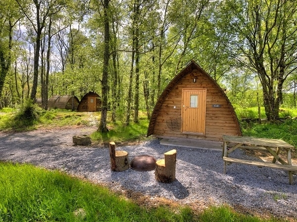 Big Chief Wigwams at Loch Tay Wigwams