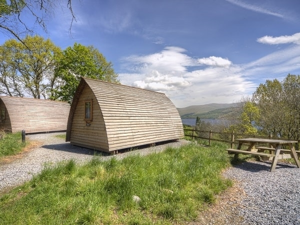 Big Chief with a view at Loch Tay Wigwams