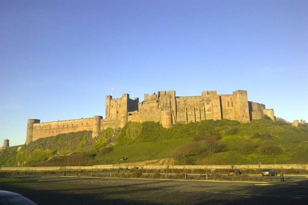 Bamburgh Castle - just one mile from Waren Mill