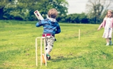 Cricket at Crowtree Wigwams