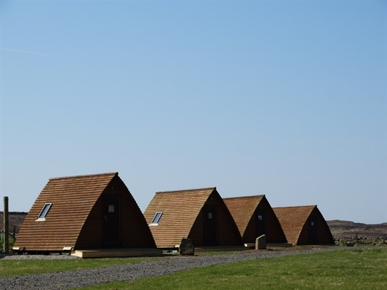 Cosy wigwams