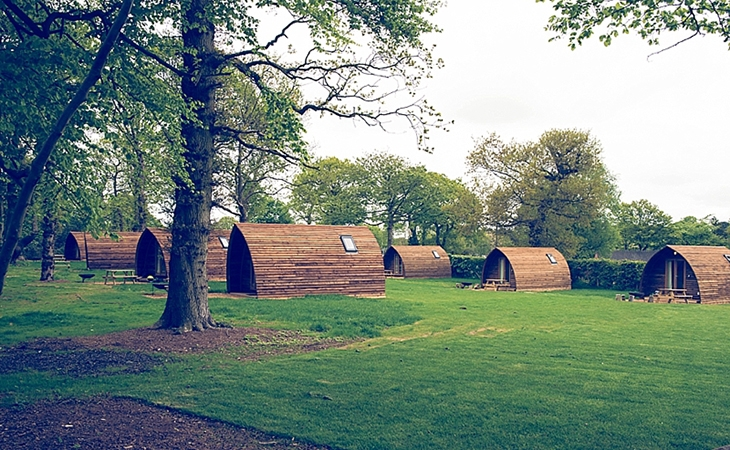 Wigwams at Forest Park Wigwams