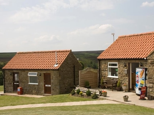 The onsite facilities are only a short walk from the Wigwams