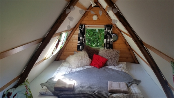 The Loft Glamping Wigwam Cabins