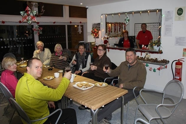 Christmas celebrations at Loch Ness Wigwams