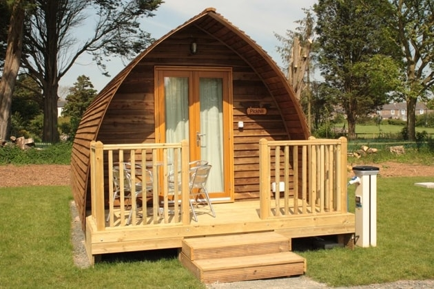 Deluxe Wigwam with private deck