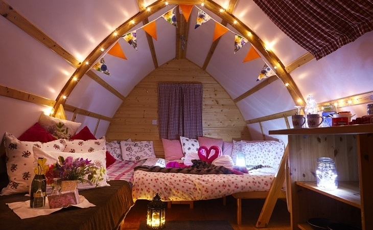 Glamping Spectacular at Humble Bee Farm Wigwams