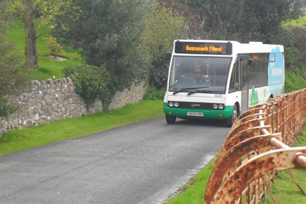 Public transport to Clwydian Wigwams