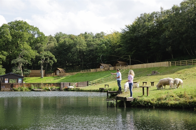 Best fishing and glamping in Cumbria