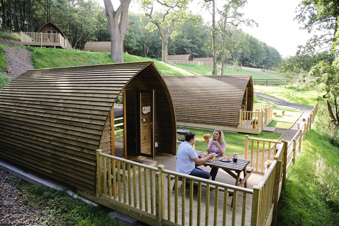 Running Water Deluxe Wigwam deck
