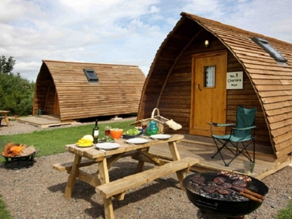 Barbeque Weather at Springhill Farm Wigwams