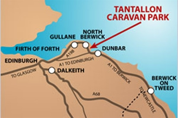 Tantallon Local Map