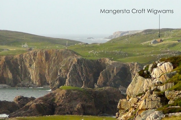 Viewed from Sea Cliffs, Isle of Lewis