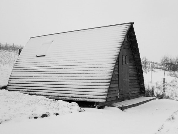 Wigwam in the Winter
