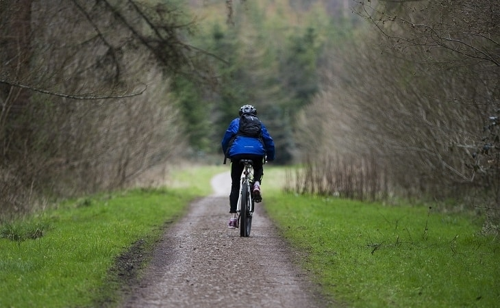 Go cycling at Chawton Park Farm Wigwams