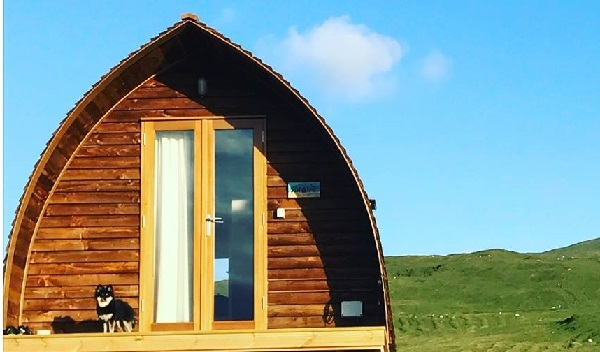 Na Bothain, Sandy Bay Croft Wigwams