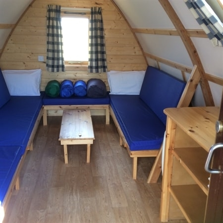 Sit and relax in your Big Chief Wigwam