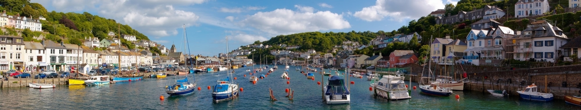 Looe Harbour Cornwall