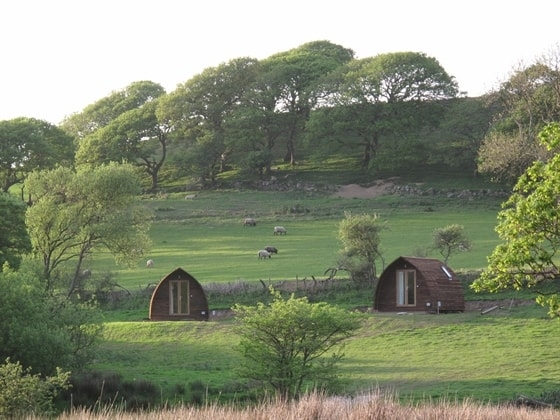 Lleyn Peninsula Wigwams