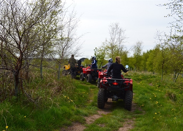 Quad trek at The Loft Wigwams and Activity Centre
