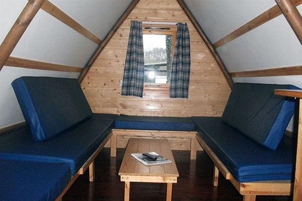 The bedding in the Standard Wigwams
