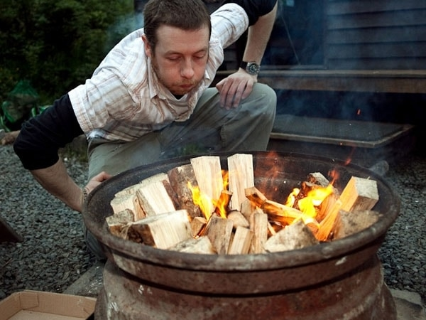 Getting the Fire Going