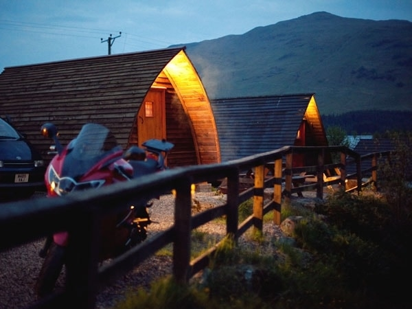 Wigwam at Night