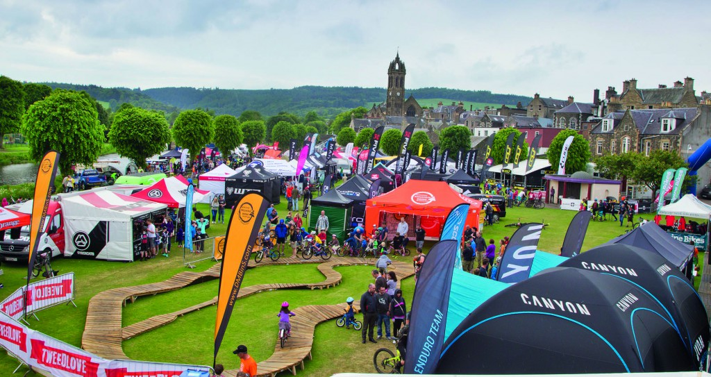 Massive cycling events happen all over Scotland!