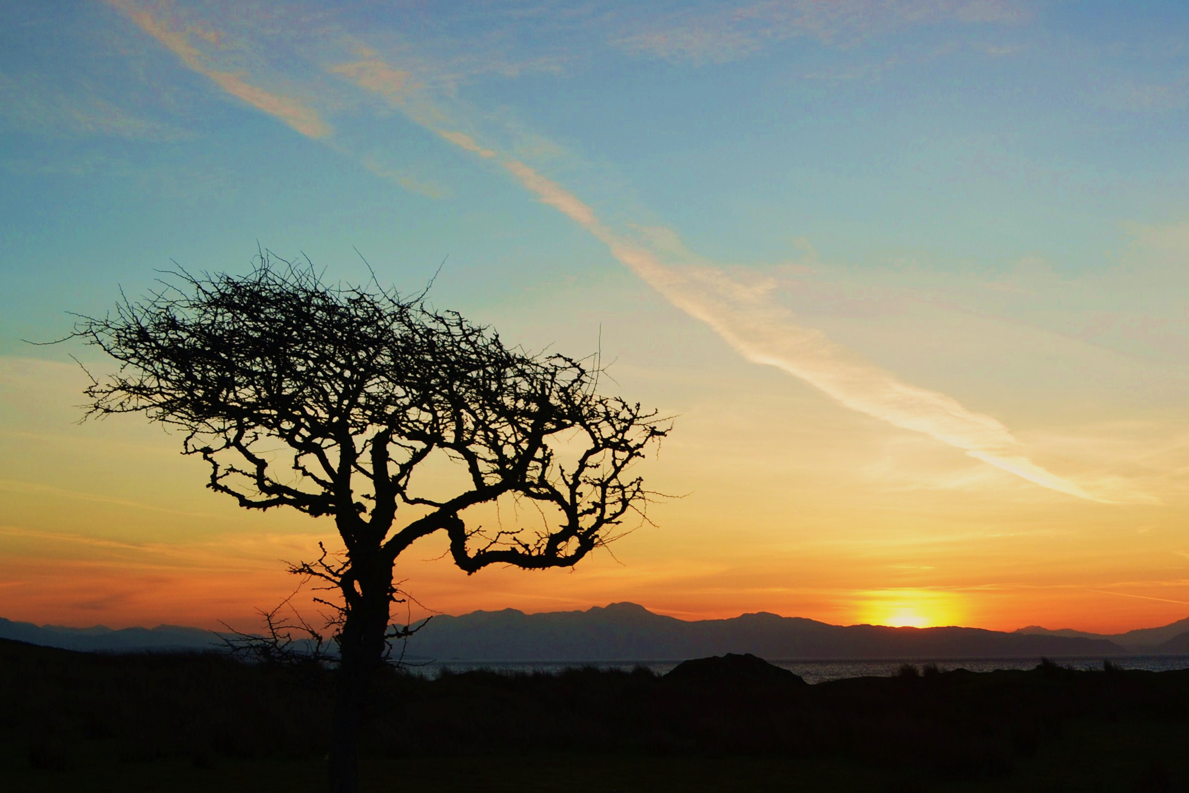 isle of eigg sunset